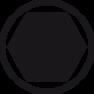"""Bit Standard zeskantkogelkop 1/4"""" (01737) 3,0 x 38 mm"""