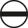 Kleine schroevendraaier sleufkop transparantrood, met clip 01538 3 mm x 60 mm