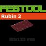 499051 Schuurstroken Rubin 2 STF 80x133/14 P150 RU/50