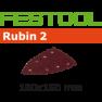 499142 Schuurbladen Rubin 2 STF Delta/100x150/7 P60 RU/10