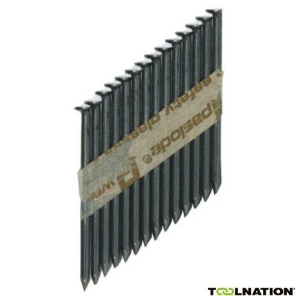 142000 Stripnagel 2,5 x 50 glad thermisch verzinkt zwart RounDrive (incl. gaspatronen) 2500 stuks