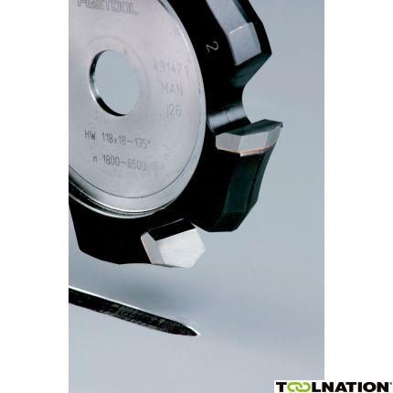 491471 V-groeffrees HW HW 118x18-135/Alu PF1200