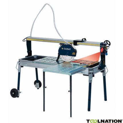 P-3508 Laser Steenzaagmachine + zijtafel + diamantzaagblad 230 Volt!