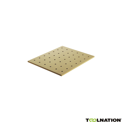 495543 Vervangingsplaat met gaten MFT/3-LP
