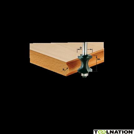 491139 Halfrondprofielfrees HW schacht 8 mm HW S8 D30/28