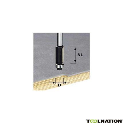 491027 Kantenfrees HW schacht 8 mm HW S8 D12,7/NL25