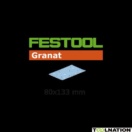 497125 Schuurstroken Granat STF 80x133 P320 GR/100