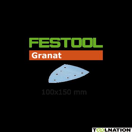 497141 Schuurbladen Granat STF DELTA/7 P220 GR/100