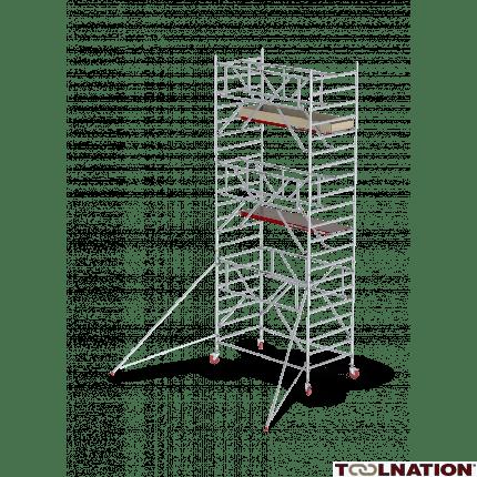 RS TOWER 42-S 11,2m werkhoogte Hout 1.85 Safe-Quick Gevelvrij C425020