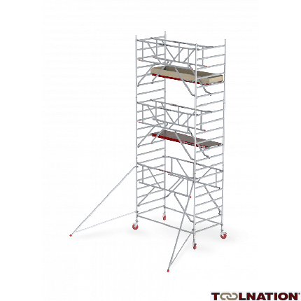 RS TOWER 42-S 9,2m werkhoogte Hout 1.85 Safe-Quick Gevelvrij C425019