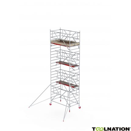 RS TOWER 42-S 8,2m werkhoogte Hout 2.45 Safe-Quick C420021