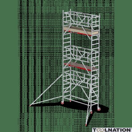 RS TOWER 41 PLUS-S 8,2m werkhoogte Hout 1.85 Safe-Quick Gevelvrij C411019