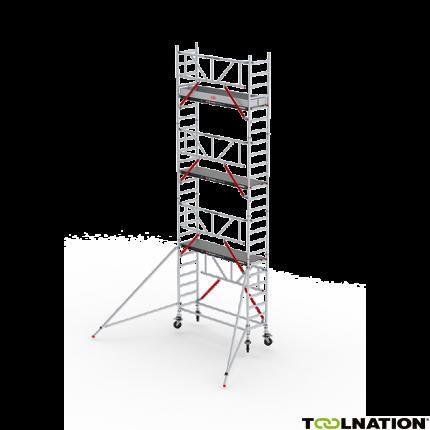 RS TOWER 51 Plus-S 9,2m werkhoogte Fiber-deck 2.45 Safe-Quick Gevelvrij