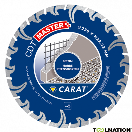 CDTM180300 Diamantzaagblad TURBO CDT MASTER 180x22,2MM