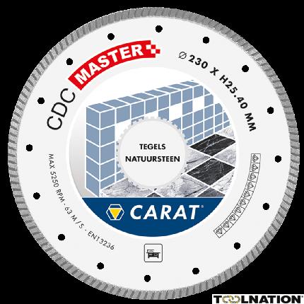 CDCM230400 Diamantzaagblad TEGELS / NATUURSTEEN CDC MASTER 230x25,4MM