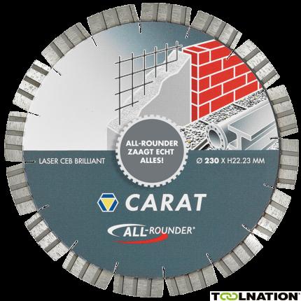 "CEB2303015 Diamantzaagblad LASER UNIVERSEEL BRILLIANT, TYPE ""ALL-ROUNDER"" 230x22.2MM"