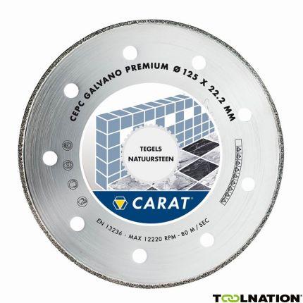 CEPC125300 Diamantzaagblad GALVANO PREMIUM 125x22.2MM, TYPE CEPC