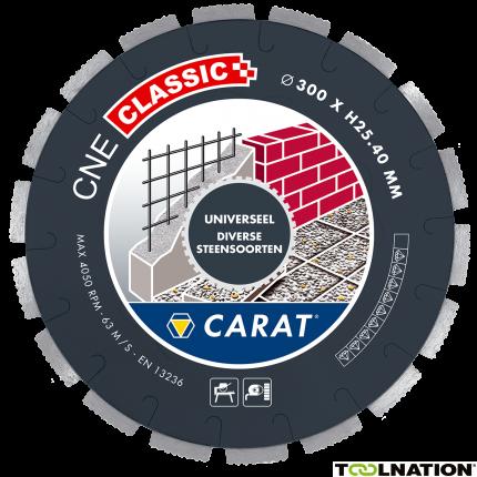CNEC300400 Diamantzaagblad UNIVERSEEL CNE CLASSIC 300x25,4MM
