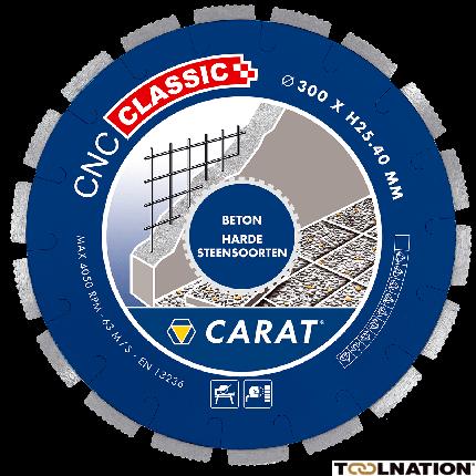 CNCC300400 Diamantzaagblad BETON CNC CLASSIC 300x25,4MM