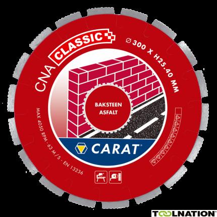 CNAC300400 BAKSTEEN / ASFALT CNA CLASSIC 300x25,4MM