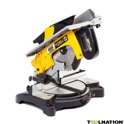 TR 250i Double Cut – Afkortzaag/verstekzaagmachine met boventafel 1200 Watt 230 Volt