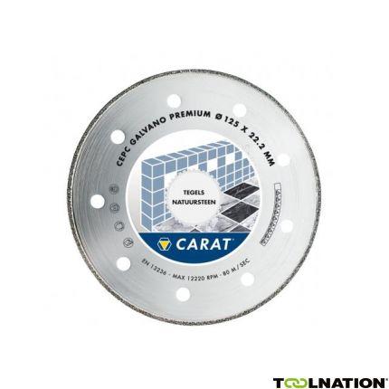 CEPS115300 Diamantzaagblad GALVANO PREMIUM 115x22.2MM, TYPE CEPS