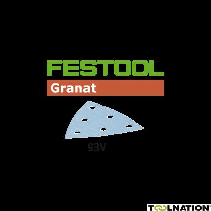 497400 Granat Schuurbladen STF V93/6 P400 GR/100