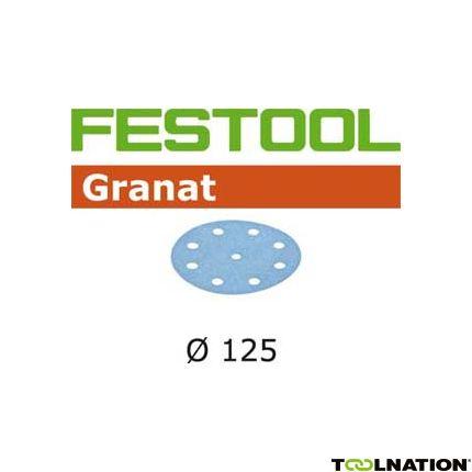 497170 Schuurschijven Granat STF D125/90 P150 GR/100