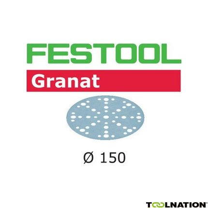 575172 Schuurschijven Granat STF D150/48 P400 GR/100