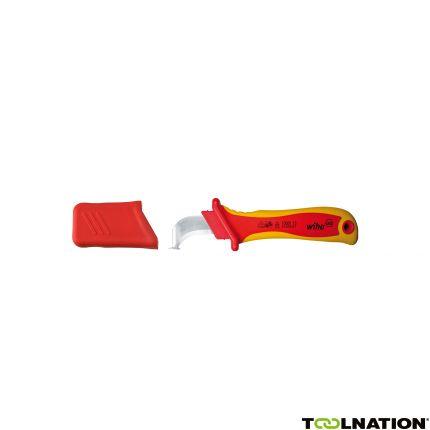 Ontmantelingsmes haakmesje met glijschoen voor ronde kabel in blister 36053 200 mm