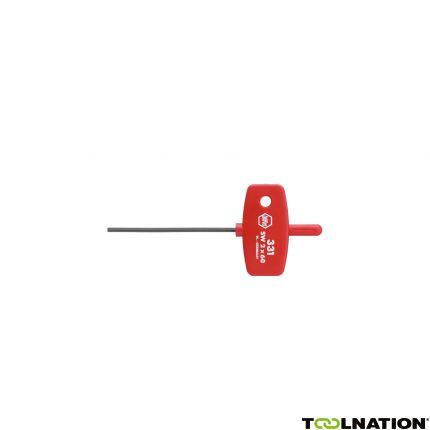 Stiftsleutel met sleutelgreep zeskant chemisch gezwart (00896) 2,5 x 60 mm