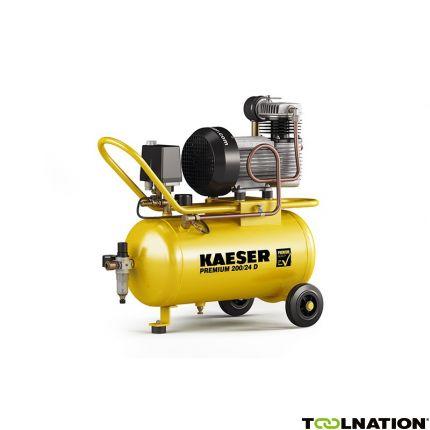 Premium 200/24D Zuigercompressor 400 Volt