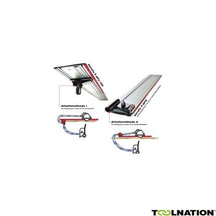 Zuig-klemsysteem Aerofix F-AF 1, met liniaal, adaptor voor boven en onder en slang