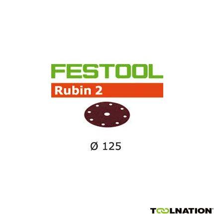 499095 Schuurschijven Rubin 2 STF D125/90 P80 RU/50