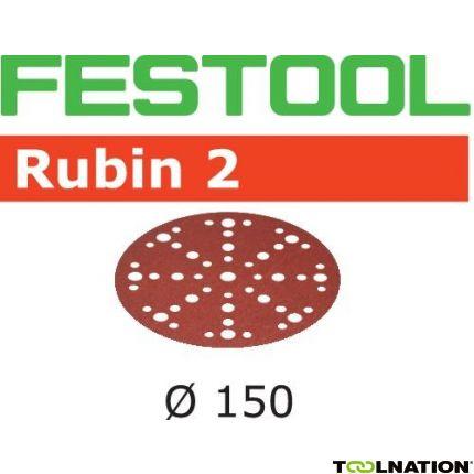 575184 Schuurschijven Rubin 2 STF D150/48 P180 RU2/10
