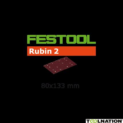 499056 Schuurstroken Rubin 2 STF 80x133/14 P80 RU/10