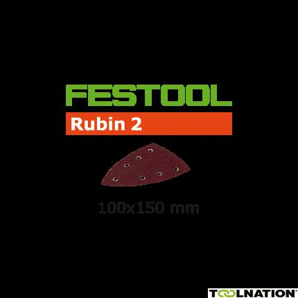 499135 Schuurbladen Rubin 2 STF Delta/100x150/7 P80 RU/50