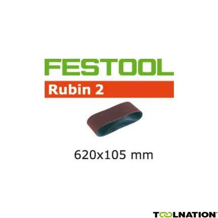 499152 Schuurband Korrel 100 Rubin 2 10 stuks BS105/620x105-P100 RU/10