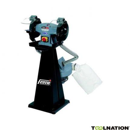 200/M Combi Werkbankslijp/polijstmachine Industrial Incl. afzuiging 2200W – 400V