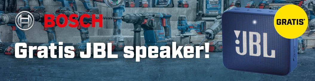 Gratis JBL speaker