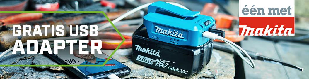Makita Gratis USB adpater