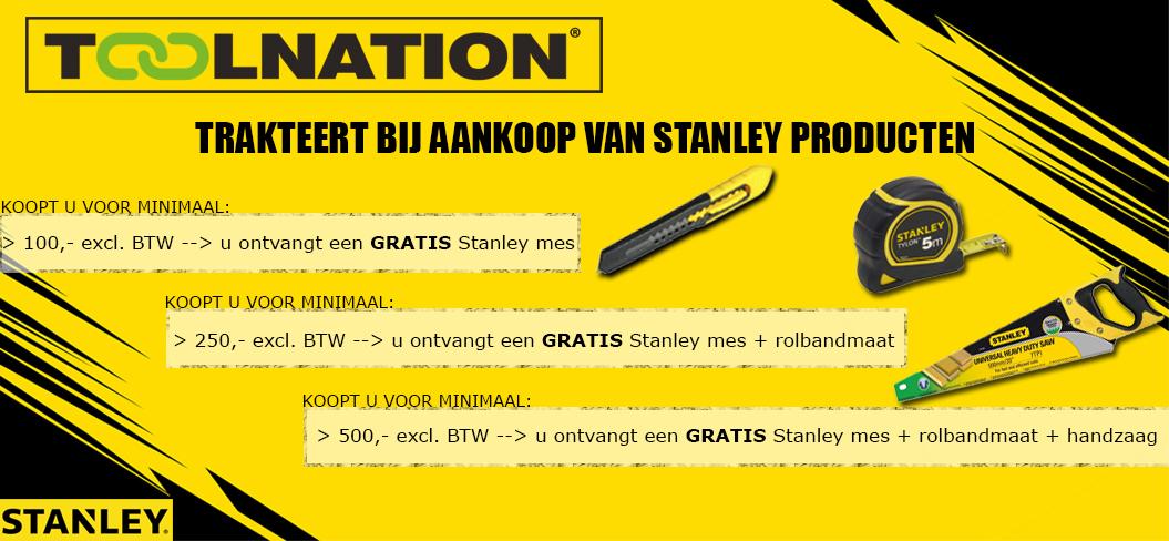 Stanley actie banner